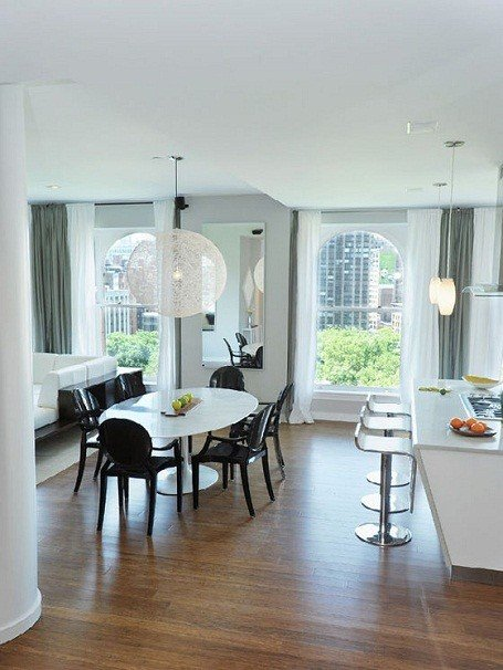 Blake Lively's dining room in her Manhattan penthouse.