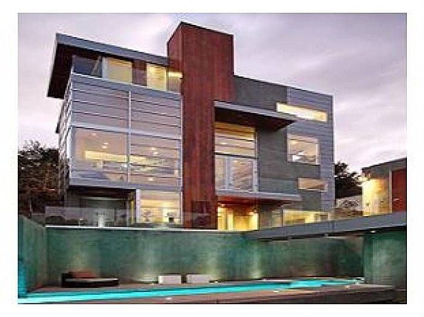 Chris Brown's Hollywood Hills home.