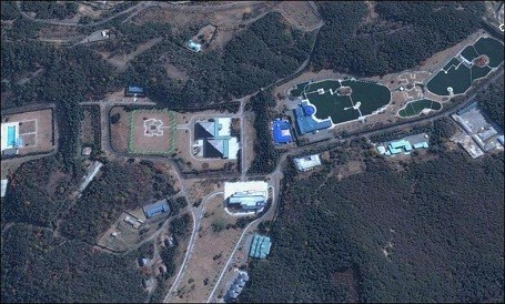 Kim Jong Il family compound in North Korea