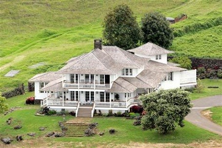 Oprah Winfrey owns hundreds of acres of land on Maui island, Hawaii.