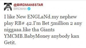 How much is Birdman worth?