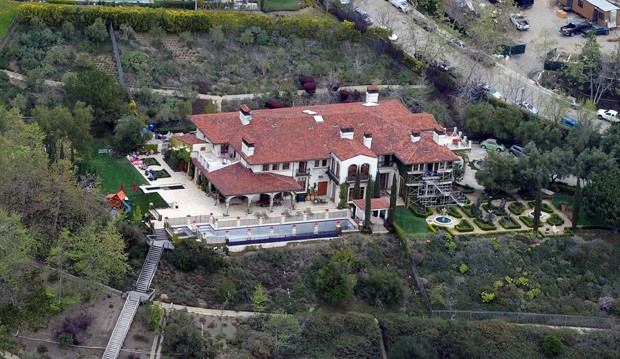 Heidi Klum's Home in Brentwood