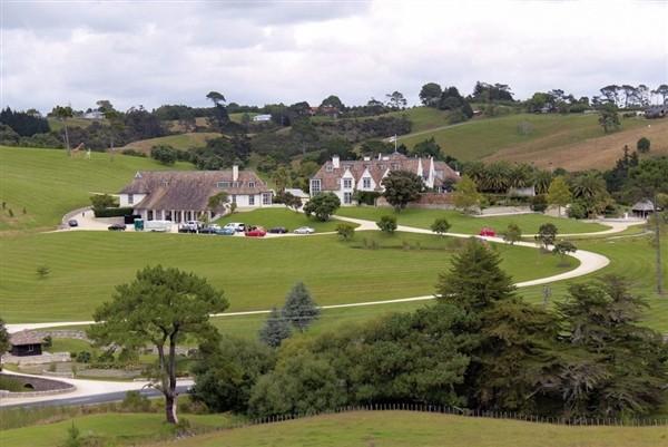 Kim Schmitz Mansion in New Zealand