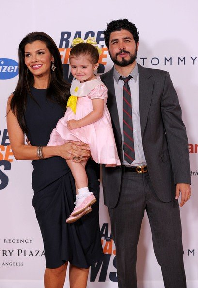 Alejandro Gomez Monteverde With his Wife and Baby