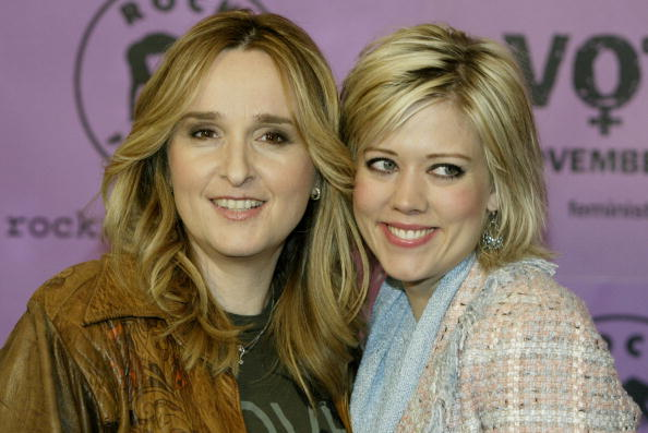 Melissa Etheridge and actress Tammy Lynn Michaels