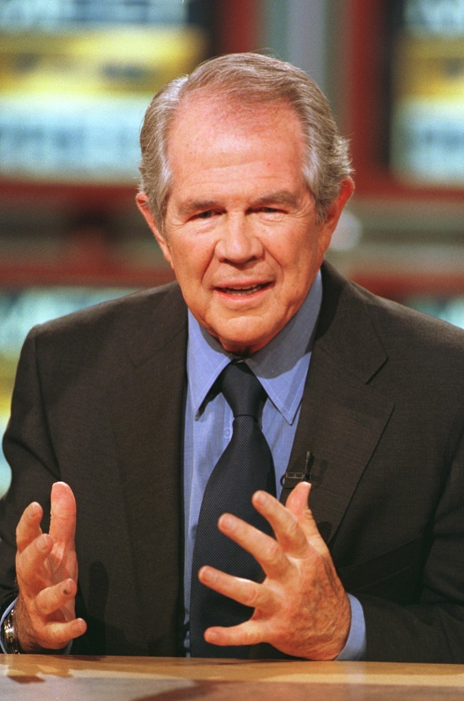 How much is Pat Robertson's net worth?