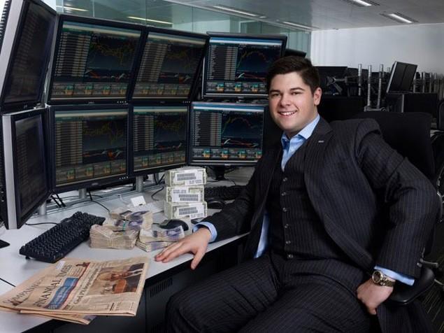 Alex Hope at his Desk