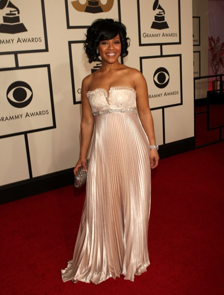 Erica Campbell of Mary Mary Gospel on the Red Carpet