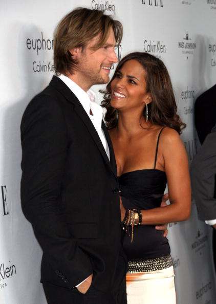 Gabriel Aubry and actress Halle Berry