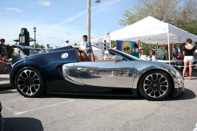 Jay-Z's Bugatti Veyron Grand Sport