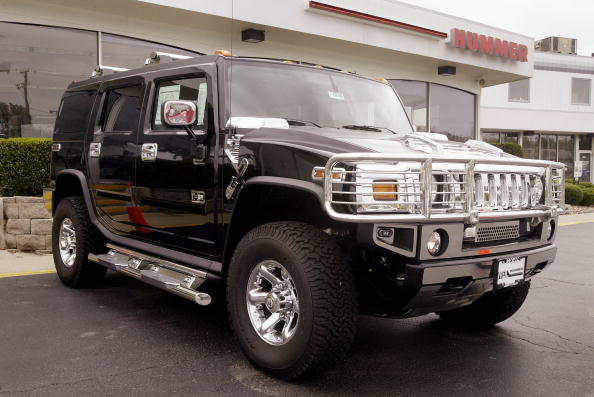 A Hummer H2 similar to the one owned by Manny Pacquiao.