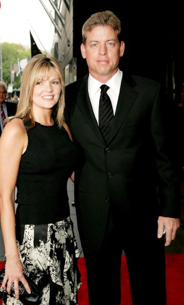 Rhonda Aikman and Dallas Quarterback Troy Aikman