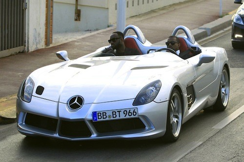 Kanye West's Mercedez-Bens Stirling Moss