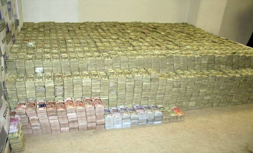 $207 Million Drug Money