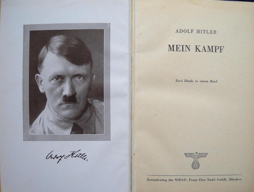 Mein Kampf inside Cover