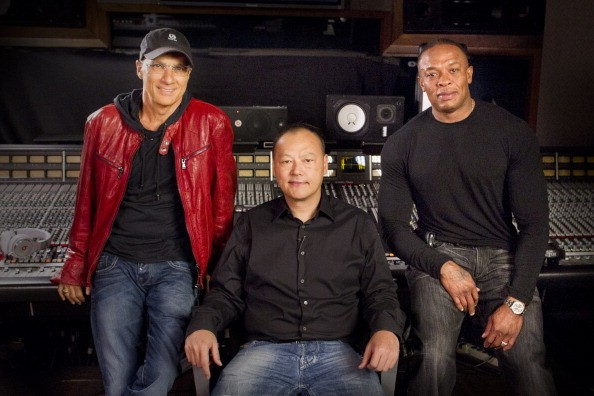 Jimmy Iovine, Peter Chou and Dr. Dre