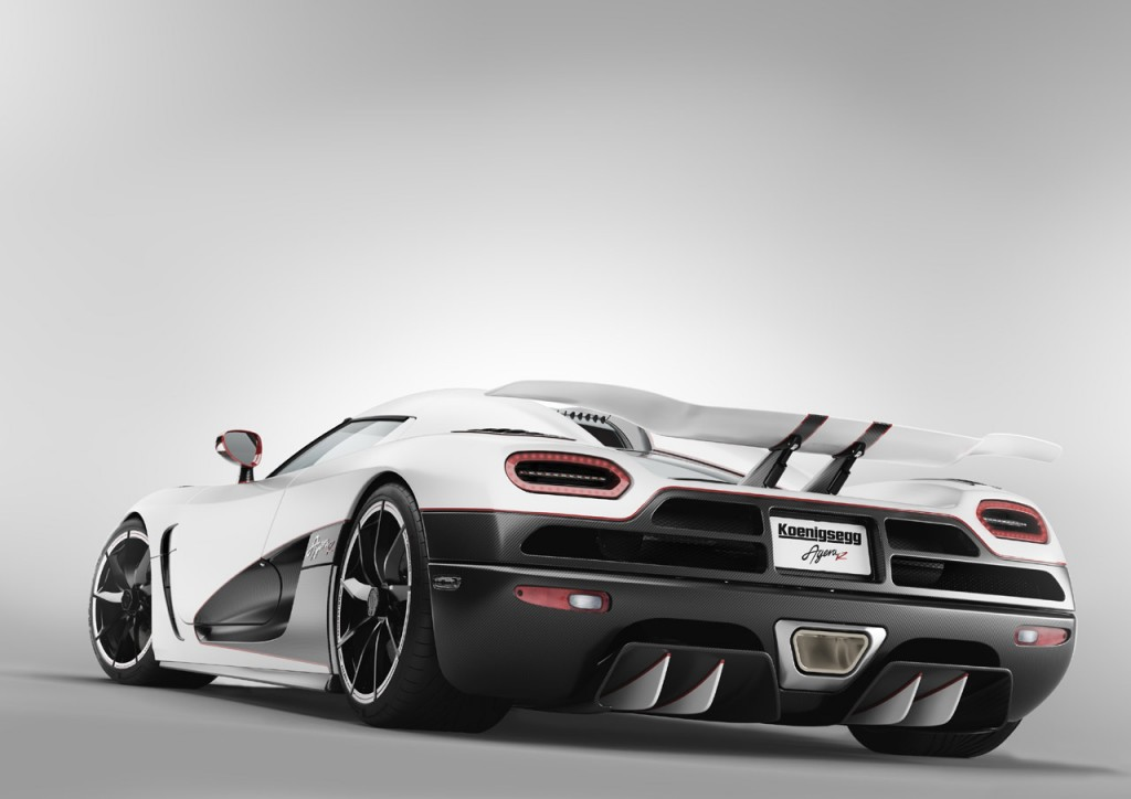 Koenigsegg Agera R From Behind