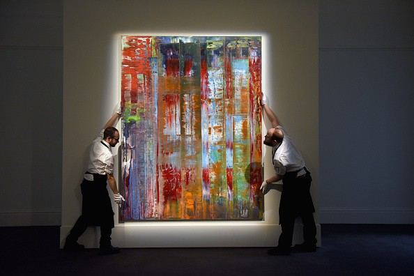 Gerhard Richter's Painting at Sotheby's