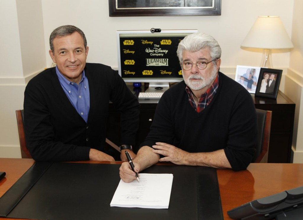 George Lucas signs Disney Deal