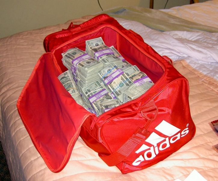 Money in a Bag