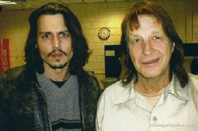 George Jung and Johnny Depp