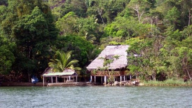 John McAfee Belize House