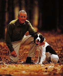 Leon Gorman and Dog