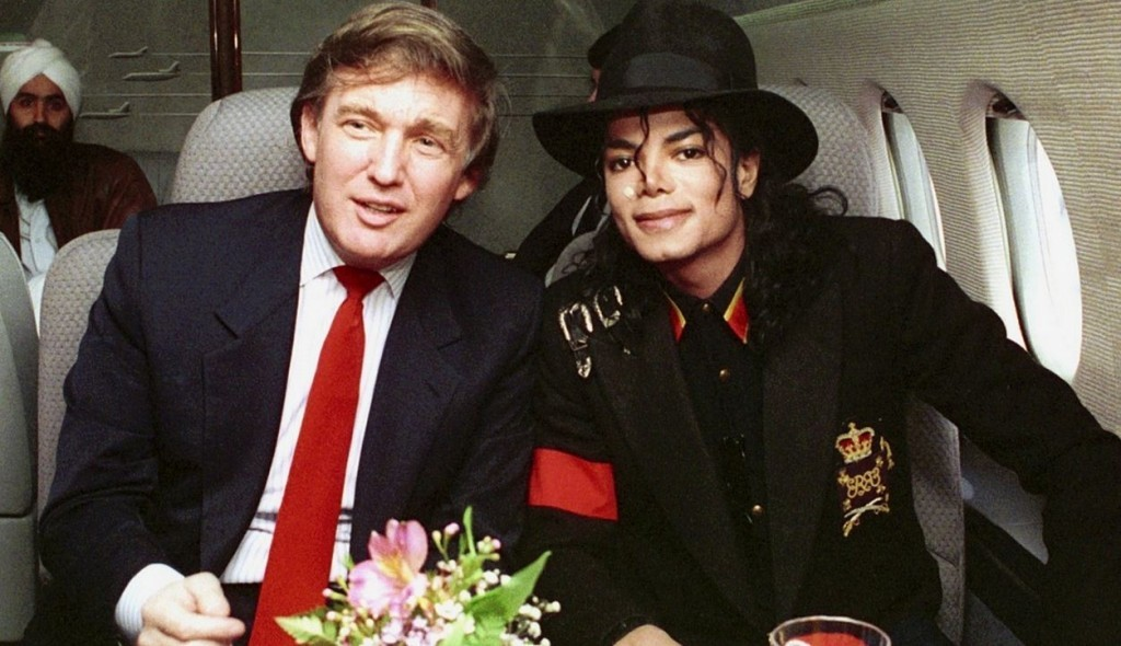 Michael Jackson and Donald Trump
