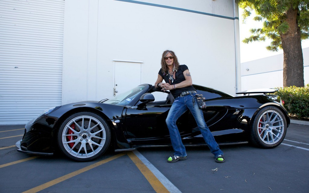 Steven Tyler's Car
