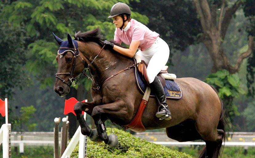 Athina Onassis Horse Jump