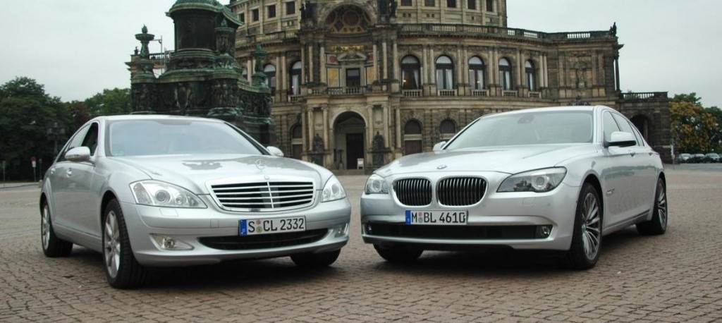 BMW and Mercedes