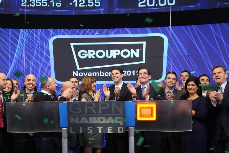 Groupon on IPO Day