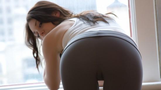 Girl In Yoga Pants