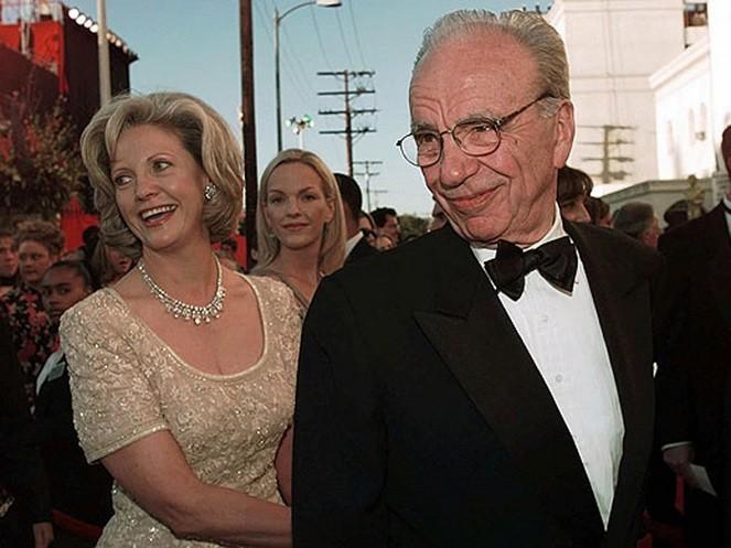 Rupert and Anna Murdoch