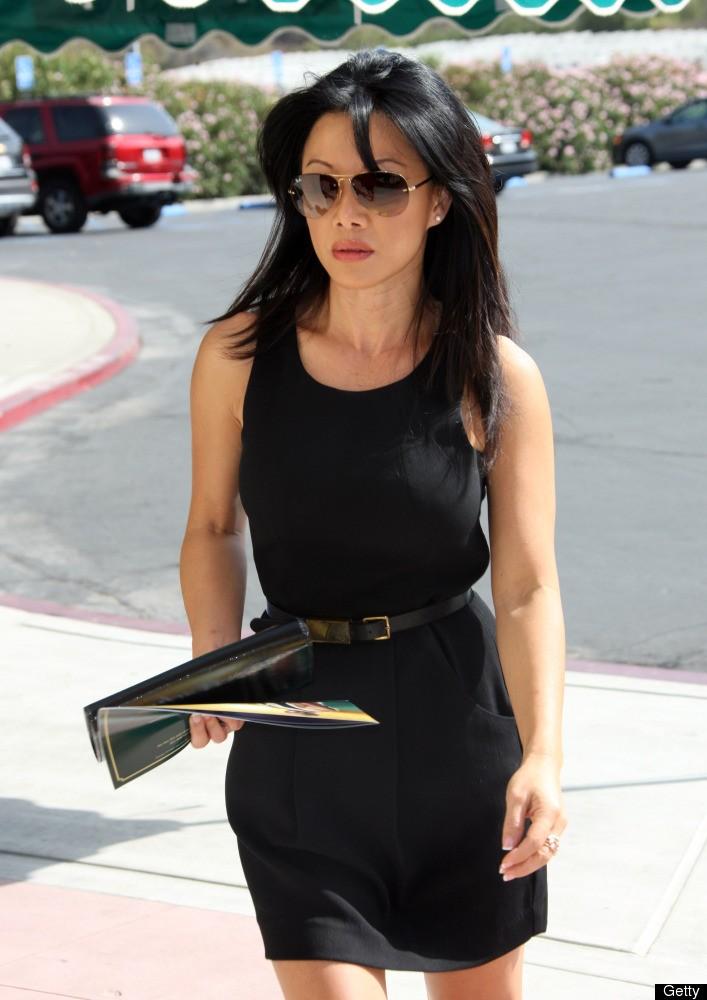 Sharon Tay Black Dress
