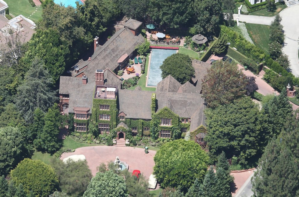 Nick Cage Bel Air Mansion