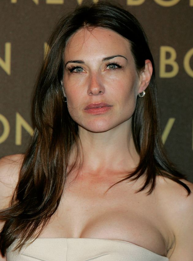 Claire Forlani busty dress