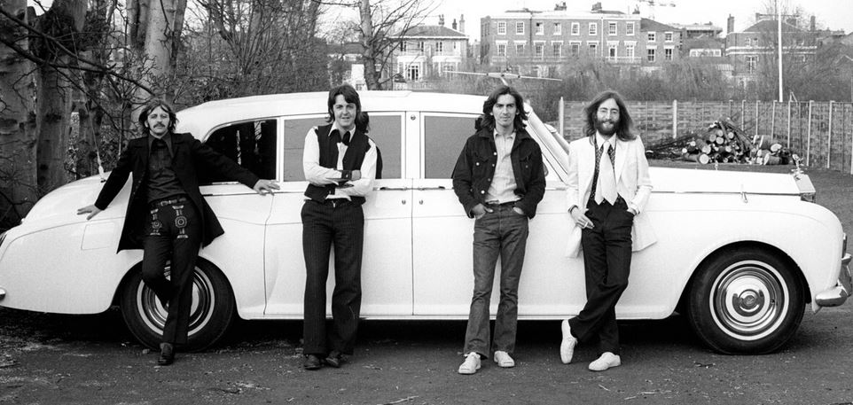The Beatles Rolls Royce