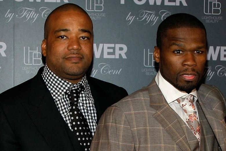 Chris Lighty and 50 Cent