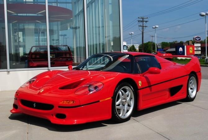 Red Ferrari F50