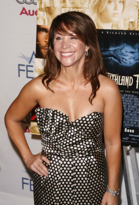 Cheri Oteri grey dress