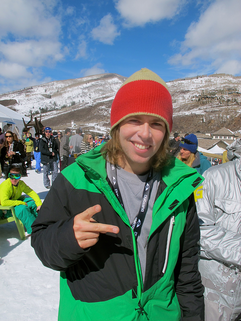 Kevin Pearce snowboarder
