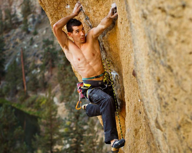 Alex Honnold shirtless