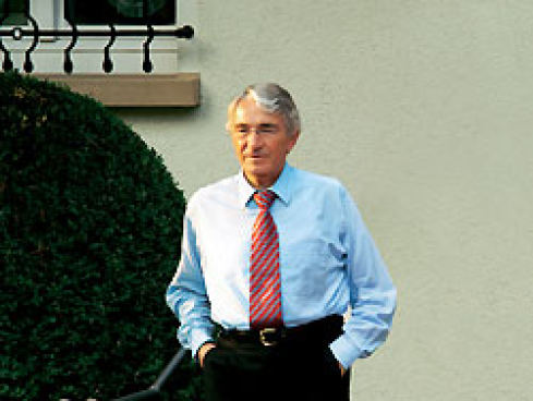 Dieter Schwarz suit