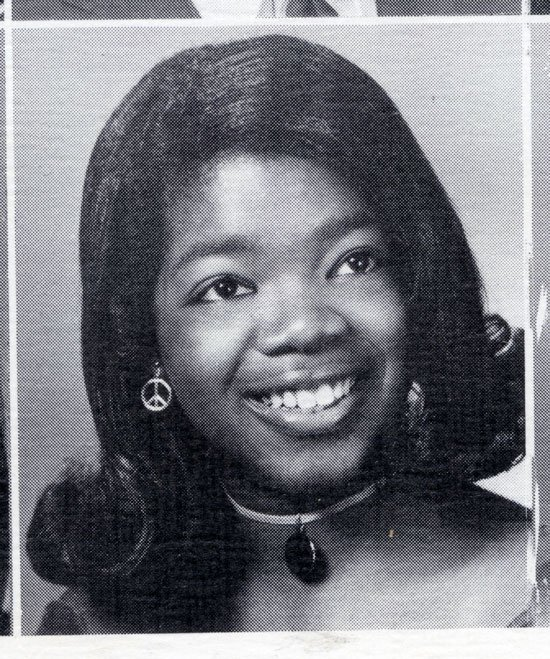 Oprah in her Teen Years