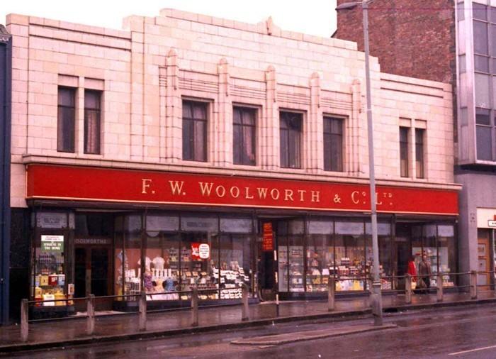 Vintage Woolworth's Store
