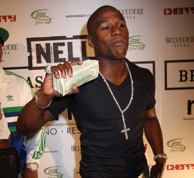 Floyd Mayweather Checking Account