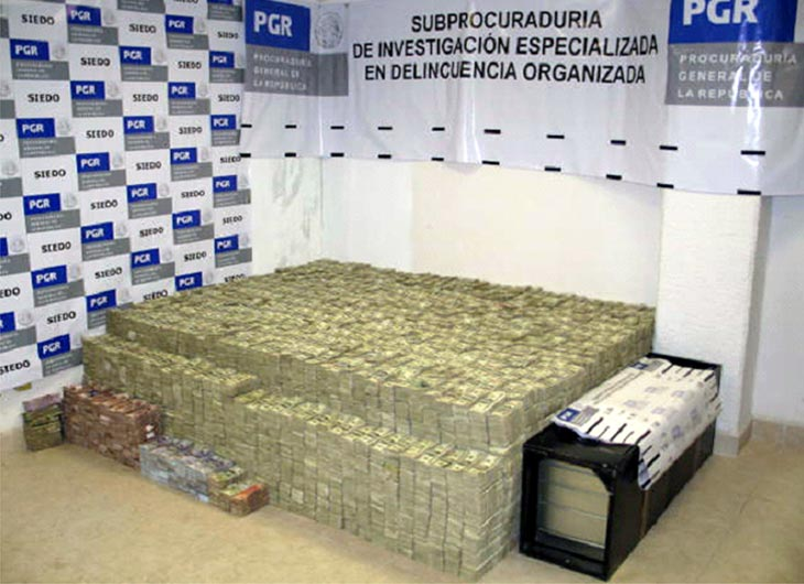 Largest Drug Cash Seizure