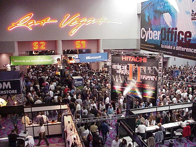 COMDEX Convention in 1998