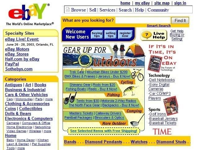 eBay in 1998